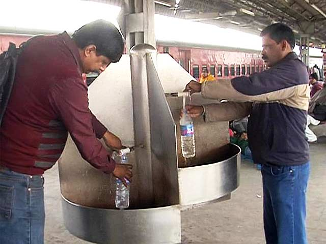 Video : Indian Railways' Watergate: Report finds water at stations highly contaminated