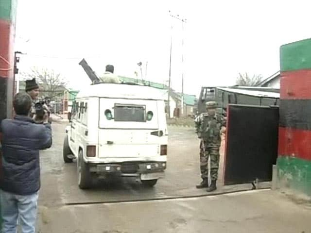 Video : Army jawan shoots 5 colleagues dead, then kills himself