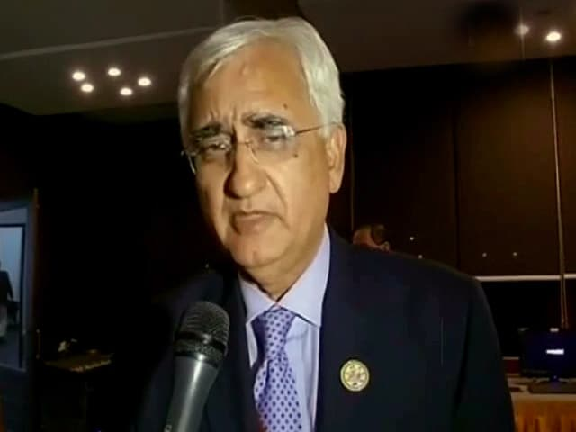 Video : PM looking forward to meeting Sri Lankan President Rajapaksa: Salman Khurshid to NDTV