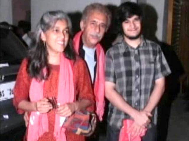 Like father, like son: Naseeruddin Shah, Vivaan