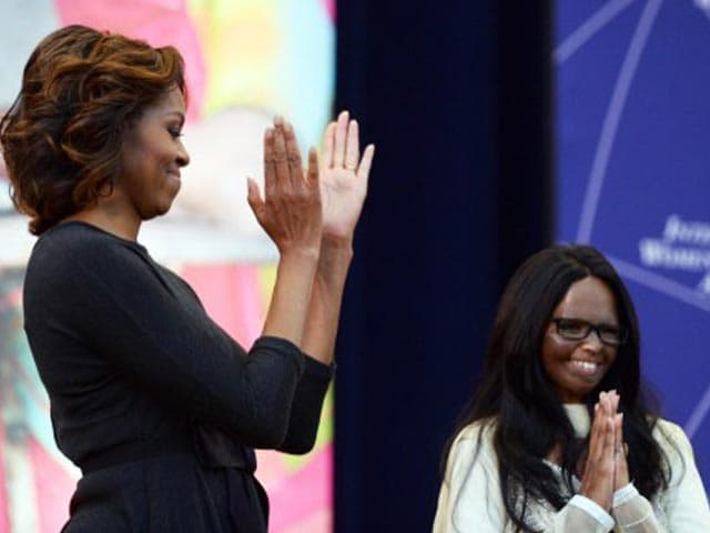 Video : US honours Indian acid attack victim with International Women of Courage Award