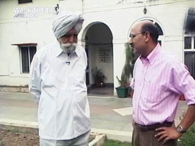 Video : Walk The Talk with KPS Gill (Aired: April 2008)