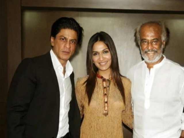 Video : SRK to attend music launch of Rajini's <i>Kochadaiiyaan</i>