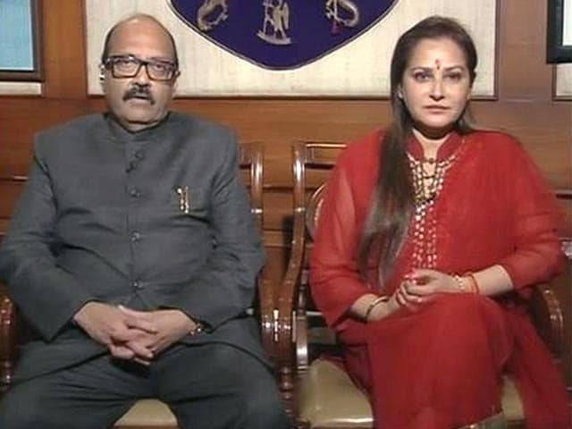 Video : Amar Singh, Jaya Prada join RLD