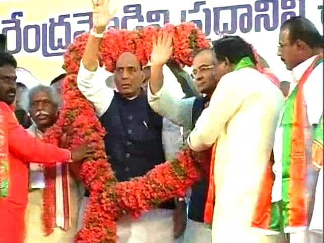 Video : BJP and Chandrababu Naidu ponder the pros of a partnership