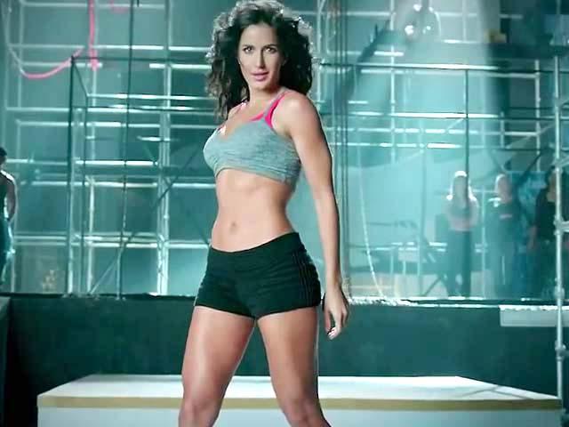 Stunt girl Katrina Kaif