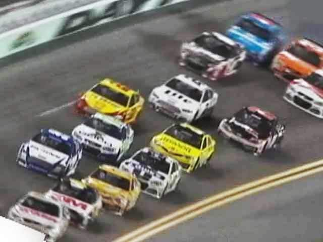 Video : Mobil 1 The Grid: Nail biting action from Daytona 500