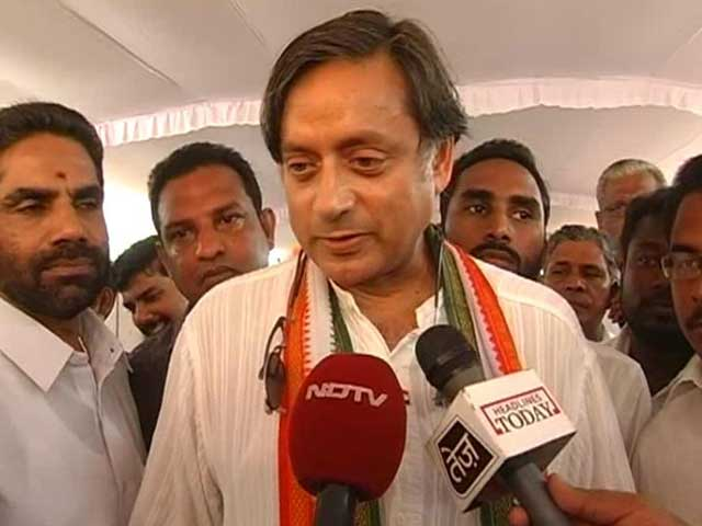 Video : Shashi Tharoor confronts attacks by rivals on wife Sunanda's death