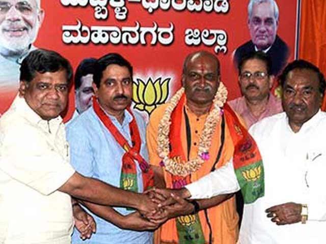 Video : Why pub-attacker Pramod Muthalik was Karnataka BJP's 'necessary evil'