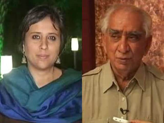 Video : NaMo used for Gods, not humans: Jaswant Singh to NDTV