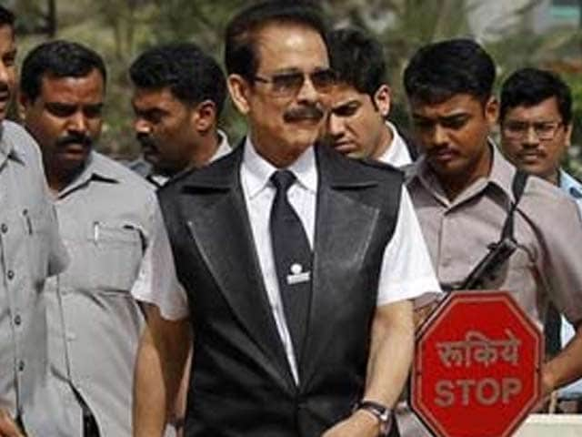 Video : Sahara's Subrata Roy gets conditional bail from Supreme Court