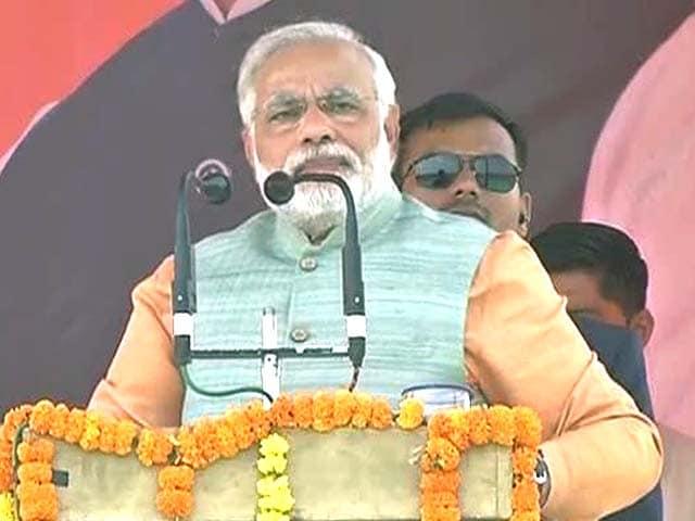 Video : Narendra Modi attacks false promises in Congress manifesto