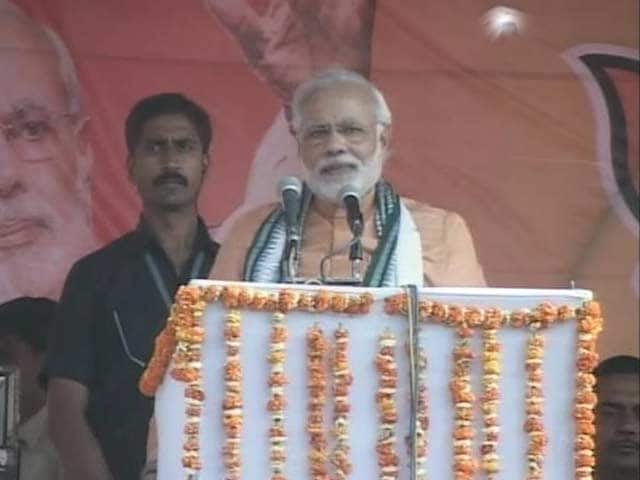 Video : In Meira Kumar's Sasaram, Narendra Modi focuses on lack of development