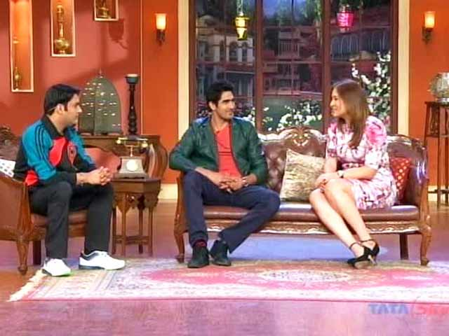 Video : The comic side of Jwala Gutta and Vijender Singh