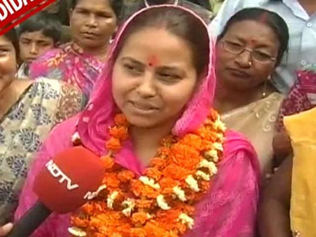 Video : Lalu's daughter Misa takes on not one but two 'chachas'