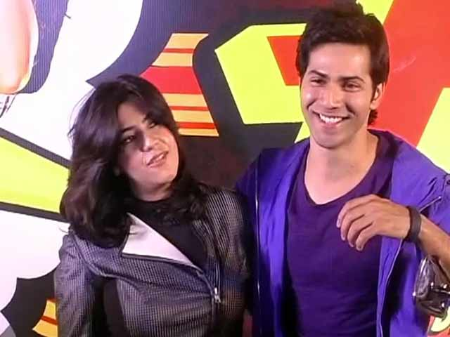 Varun is Ekta's cute Hero