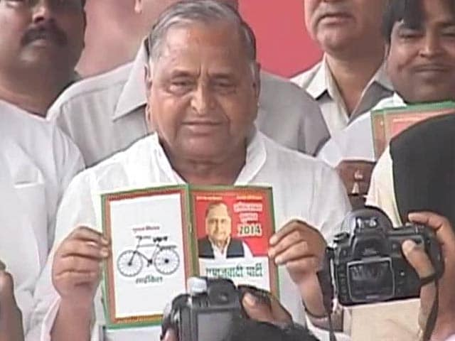 Video : Mulayam's 'upper caste' manifesto promise