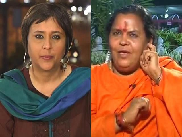 Video : Will campaign against Sonia Gandhi in Raebareli: Uma Bharti to NDTV