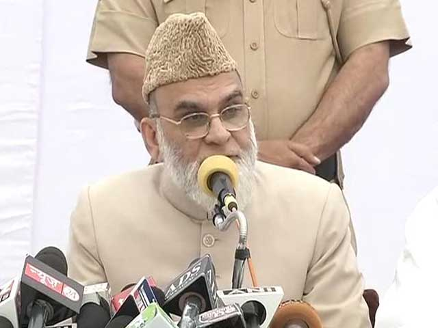 Video : After controversial Sonia meeting, Congress scores Shahi Imam's support