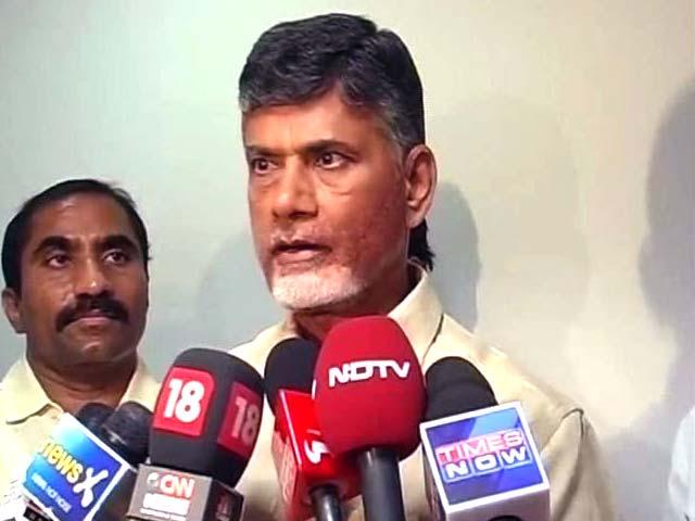 Video : Alliance with BJP a political compulsion, says Chandrababu Naidu