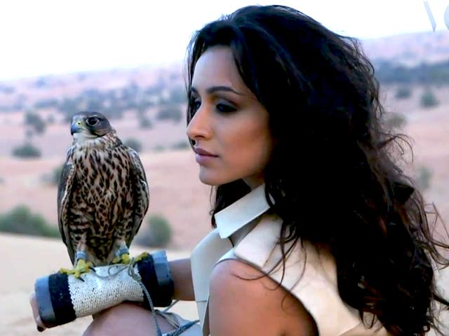 Video : Shraddha Kapoor stirs up desert desire
