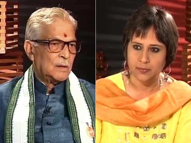 Video : It's BJP's manifesto, not a Modi-festo: MM Joshi to NDTV