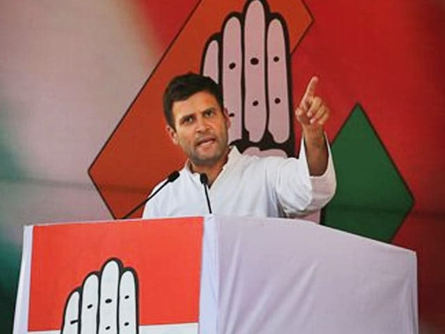 Video : Rahul Gandhi targets Narendra Modi over admission of marriage