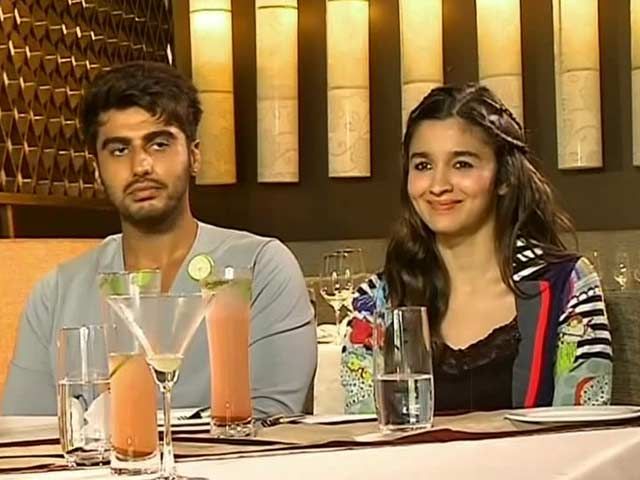 Alia, Arjun on films, food and more