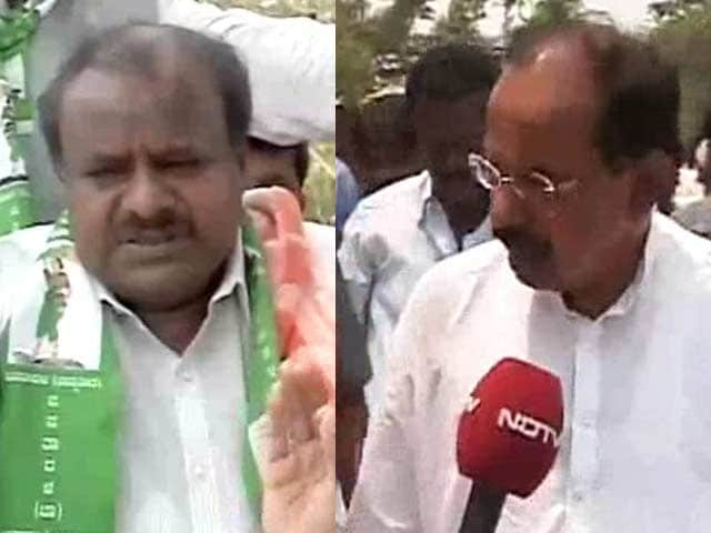 Video : Election 2014: Clash of the two former Chief Ministers in Karnataka