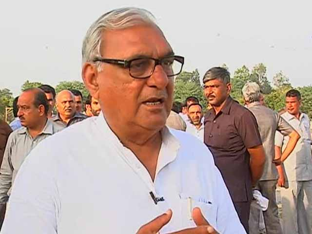 Video : Battle for Haryana seems to favour the Congress, says chief minister Bhupinder Hooda