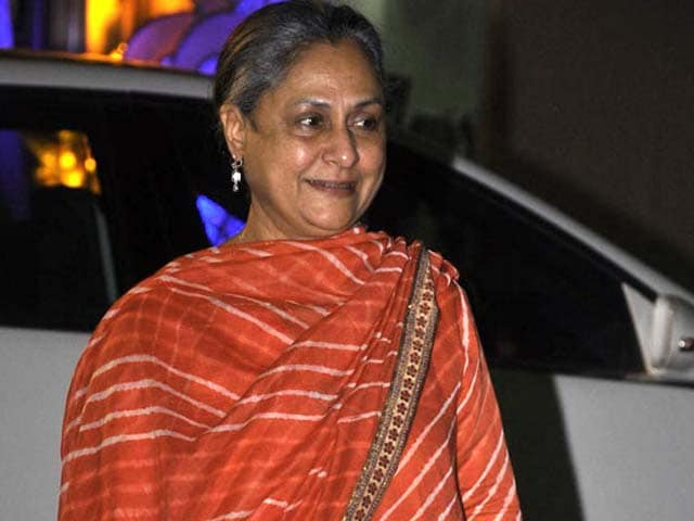 On TV, Jaya Bachchan will be late