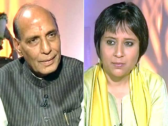 Video : Rajnath Singh meets clerics, says 'can't compare with Sonia Gandhi-Shahi Imam meeting'