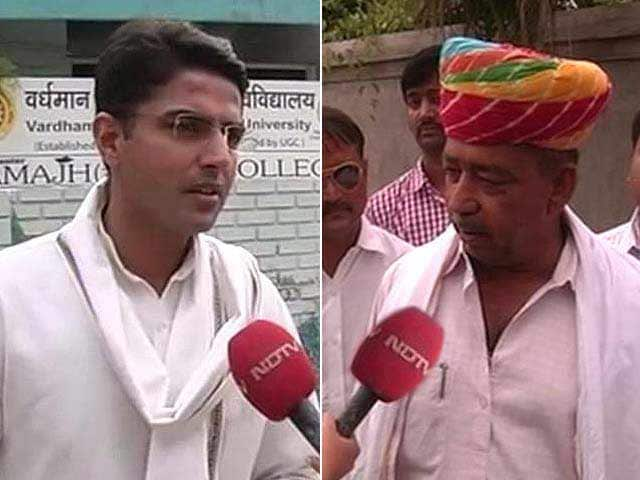 Video : Battle for Ajmer: Sachin Pilot vs Sanwar Lal Jat