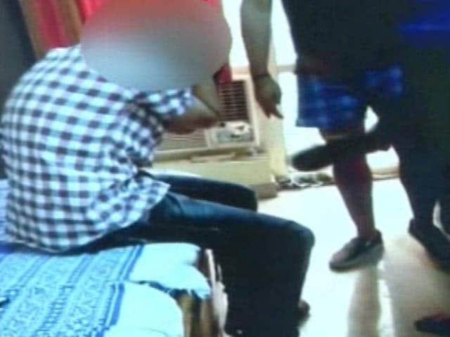 Video : Noida student beaten, stripped, blackmailed, allegedly by seniors
