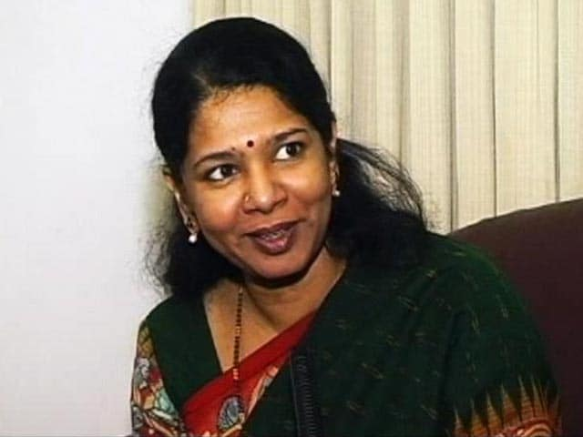 Video : Jayalalithaa should be the last person to talk on 2G: Kanimozhi