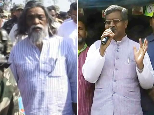 Video : In Jharkhand's Dumka, two former chief ministers face-off