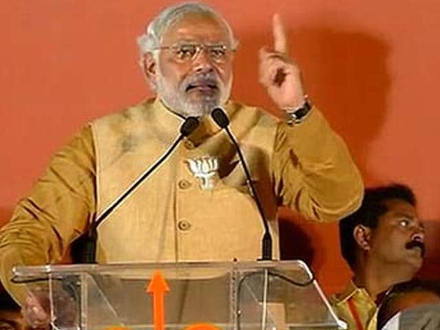 Video : No irresponsible statements please, says Narendra Modi after Togadia controversy