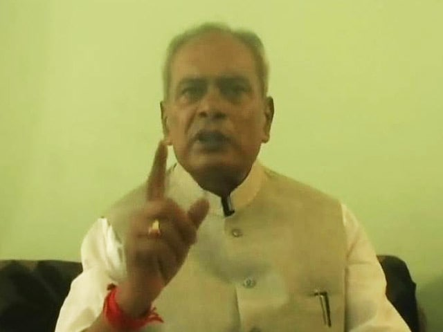 Video : RJD leader Prabhunath Singh in trouble for threatening district magistrate
