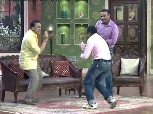 Video : The funny side of Gavaskar and Sehwag!