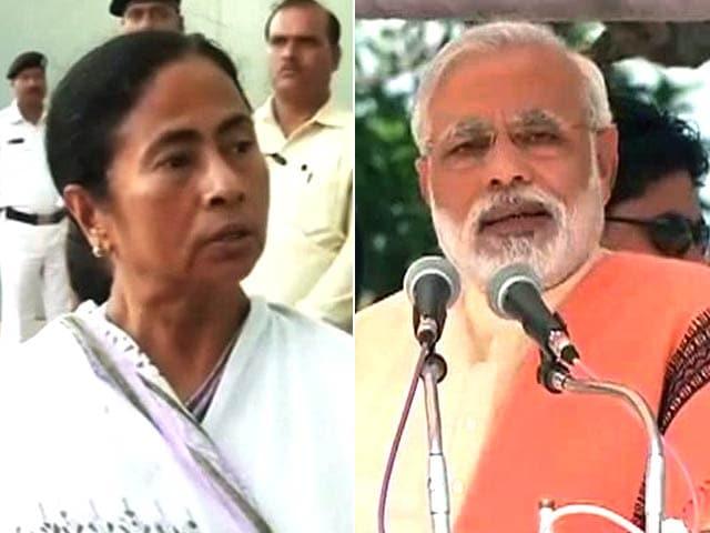 Video : War of words between Mamata, Modi