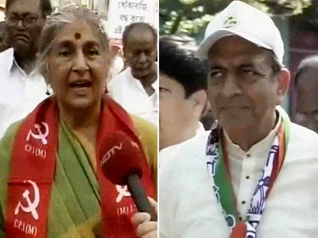 Video : Subhashini Ali vs Dinesh Trivedi: Insider, Outsider Debate Rocks Barrackpore