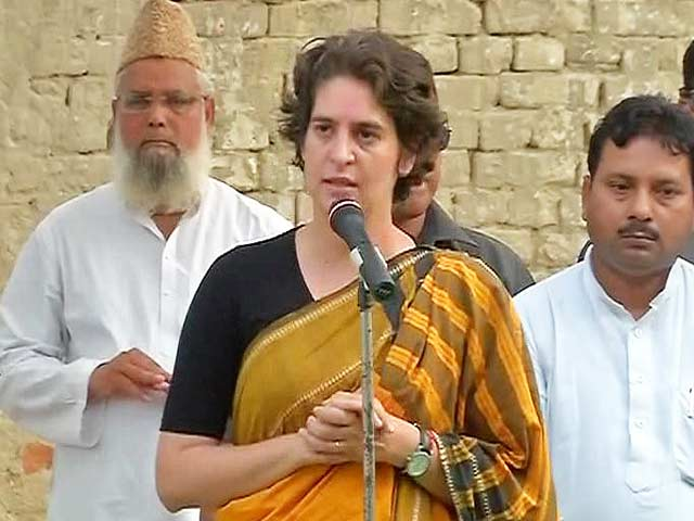 Video : Opposition Cowards, Circulating Literature of Lies: Priyanka Gandhi Vadra
