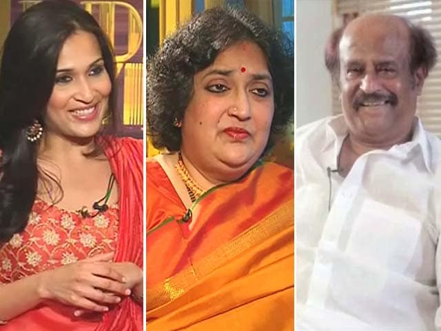 Video : The Women Behind Rajinikanth