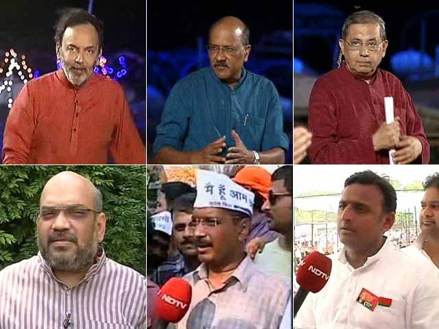 Video : Watch Battleground Uttar Pradesh: Big Surge for BJP in Last Lap