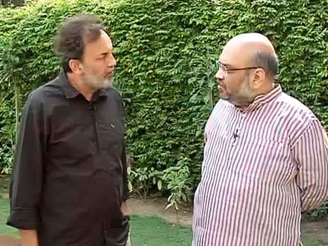 Video : Watch: Will Change Perception That BJP is Communal, says Amit Shah to NDTV