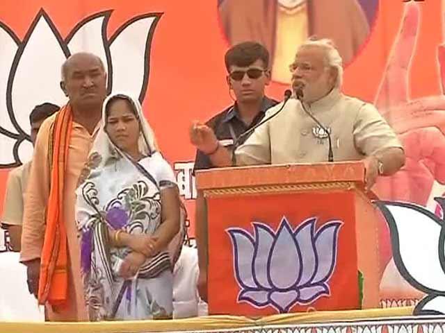 Video : Narendra Modi's 'Kalavati' is Sanju Devi of Ambedkar Nagar
