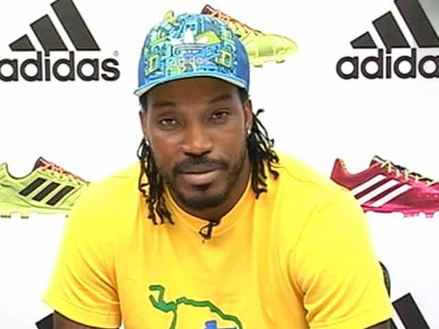 Video : Meet Chris Gayle, the New Football Star in Town