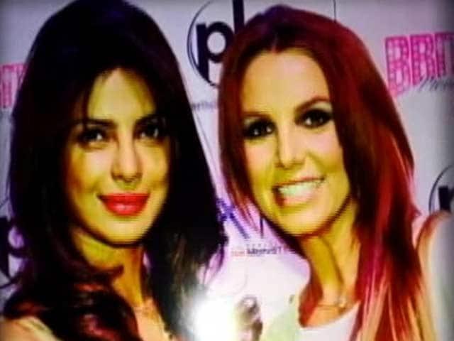 Priyanka Chopra spotted with Britney Spears