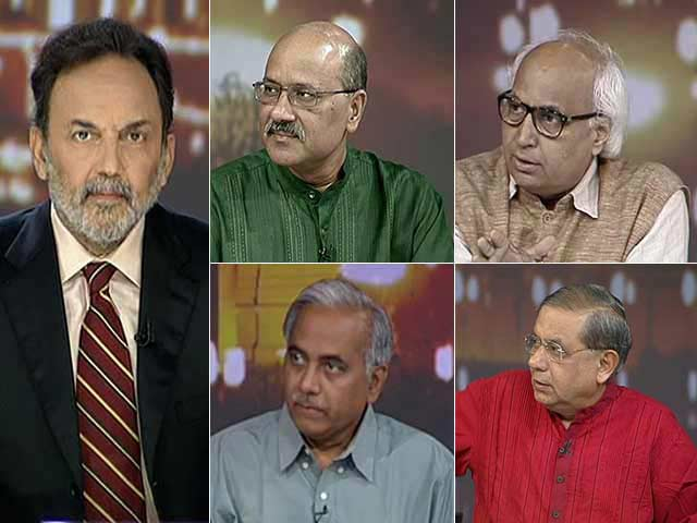 Video : Watch: NDTV Exit Poll - BJP and Allies Cross Half-Way Mark, Congress in Double Digits