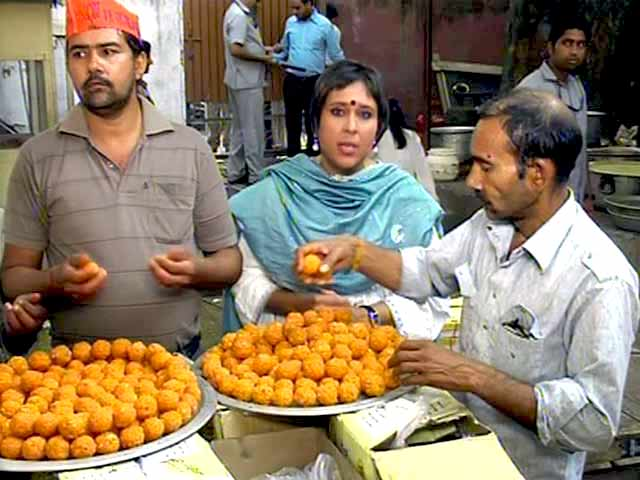 Video : Election Results 2014: Counting Starts Soon, Ladoos Ready at BJP Office